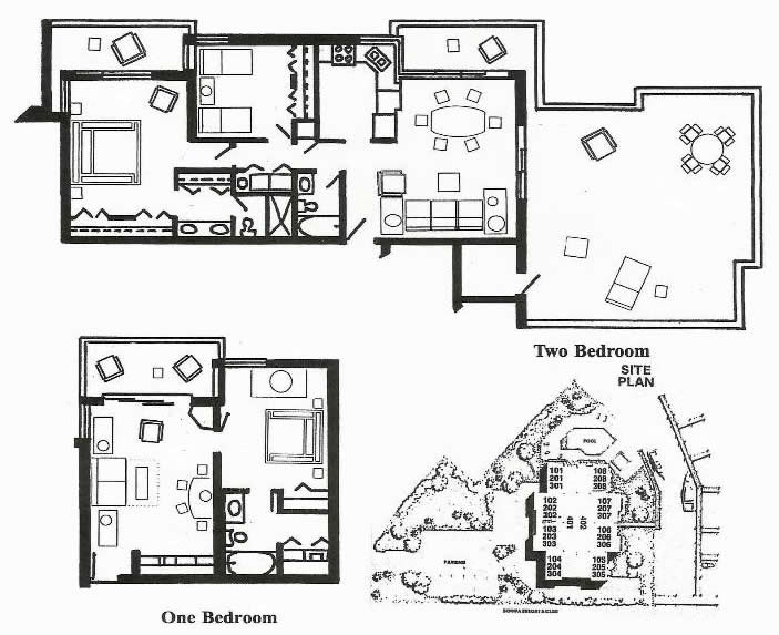 Bonita Resort and Club Floor Plans and Site Map